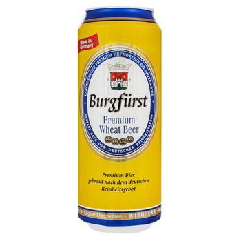 Burgfurst Premium Light Wheat Beer 0.5l