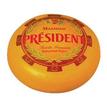 Сыр President Мааздам твердый головка 48% - купить, цены на Метро - фото 2