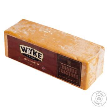 Сыр Wyke Farms Чеддер Ред Лейчестер 56%