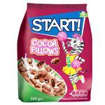 Сухі сніданки Start! зеренові подушечки з какао начинкою 500г