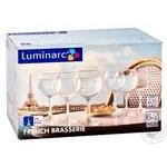 Набір бокалів для вина Luminarc ОСЗ Французський ресторанчик 6шт 280мл