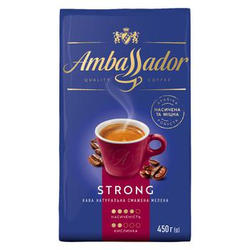 Ambassador Strong Ground Coffee 225g