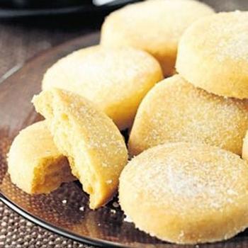 Сахарное печенье с лимонным соком