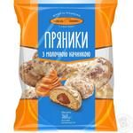 Kyivkhlib with milk filling pryaniki 400g