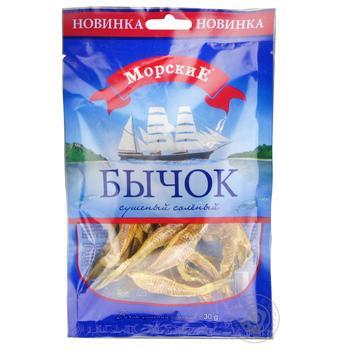 Бичок Морські сушений солоний 35г - купити, ціни на Восторг - фото 2