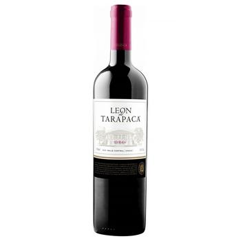 Вино Leon de Tarapaca Syrah червоне сухе 14% 0,75л - купити, ціни на CітіМаркет - фото 1