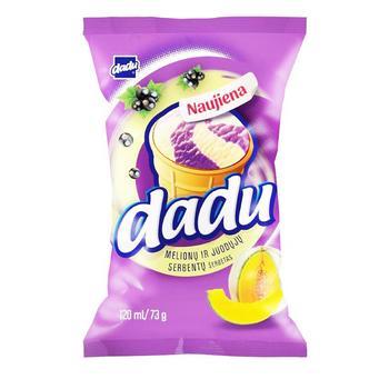 Мороженое Dadu Черная смородина Дыня в стаканчике 120мл