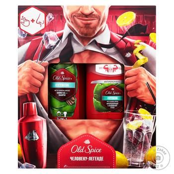 Old Spice Citron Gift set Solid deodorant, shower gel 250ml - buy, prices for Furshet - image 1