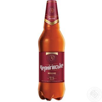 Chernigivske Strong light beer 7,5% 1l