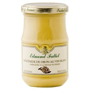 Гірчиця Edmond Fallot 210 г Діжонська з білим вином 09588