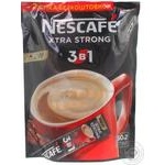 Instant coffee drink Nescafe Xtra Strong 3in1 with sugar and sweeteners stick sachet 52х17.2g Ukraine