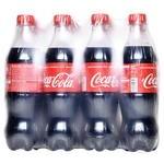 Напій Coca-Cola сильногазований 0,5л опт*12шт