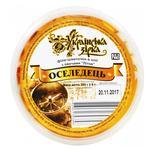 Fish herring Ukrainian star with vegetables preserves