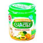 Malenke shchastya Puree Apple-apricot for children from 5 months 90g