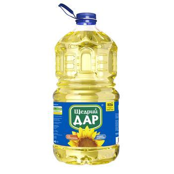 Shchedryy Dar Sunflower refined deodorized frozen 5l - buy, prices for CityMarket - photo 1
