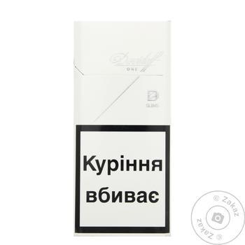 Сигарети Davidoff one slims 20шт 25г - купити, ціни на CітіМаркет - фото 1