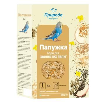Pryroda Feed For Budgies 500g - buy, prices for CityMarket - photo 1