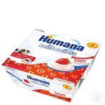 Продукт кисломолочный Хумана с клубникой и натуральными пребиотиками для детей с 6 месяцев 2.8% 4х100г