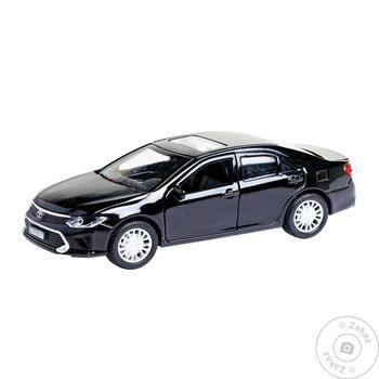 Автомодель Toyota Camry Technopark Чорний, 1:32 - купить, цены на Novus - фото 1