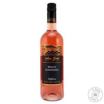 Вино Zinfandel Sun Gate рожеве 10% 0,75л
