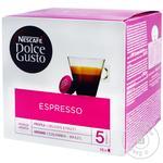 Кофе NESCAFÉ® DOLCE GUSTO® Espresso Decaffeinato без кофеина в капсулах 16 шт 96г