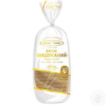 Батон Київхліб Вишуканий нарізка 450г - купити, ціни на CітіМаркет - фото 3