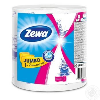 Zewa Jumbo Paper towels two-layer 325 sheets - buy, prices for Metro - image 1