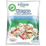 Овощи Frozana с рисом и шампиньонами замороженные 450г