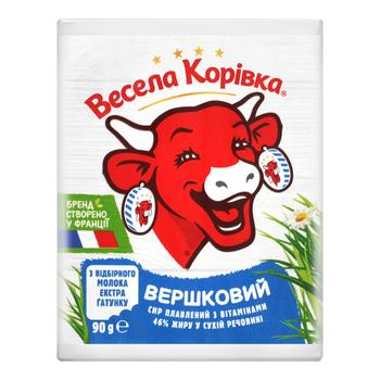 Vesela Korivka Creamy Processed cheese with vitamins 46% 90g