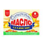 Масло Белоцерковское крестьянское 72.5% 100г