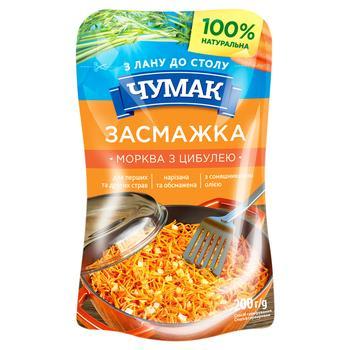 Заправка Чумак Зажарка морковь с луком 200г - купить, цены на Ашан - фото 1