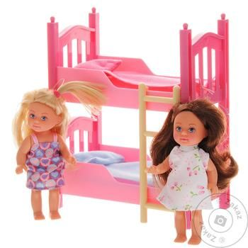Simba Evie with a double bed Doll set - buy, prices for Novus - image 1