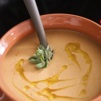 Тыквенно-луковый суп