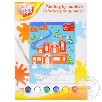 Набор для рисования One Two Fun Painting by numbers в ассортименте