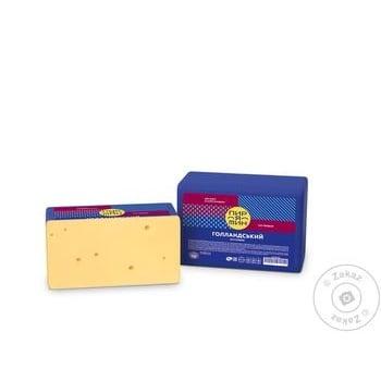Сыр Пирятин Голландский 45% - купить, цены на МегаМаркет - фото 1
