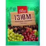 Deko Light Raisins 80g