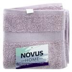 Рушник Novus Home махровий ліловий 40х70см