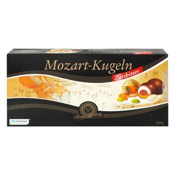 Цукерки шоколадні Mozart-Kugeln Henry Lambertz з марципаном 200г