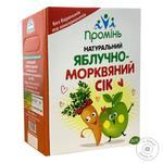 Сок Промінь яблочно-морковный 3л