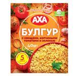 Каша AXA булгур з овочами копченими томатами и зеленню 40г