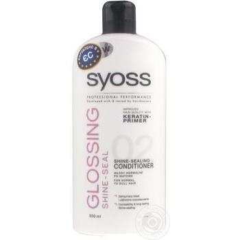 Бальзам для волосся Syoss Glossing shine-seal 500мл