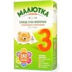Maliutka Premium with prebiotics and nucleotides for babies from 12 months dry milk mix 350g