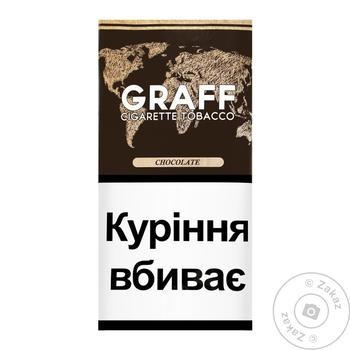 Graff Chocolate Tobacco 30g - buy, prices for CityMarket - photo 1