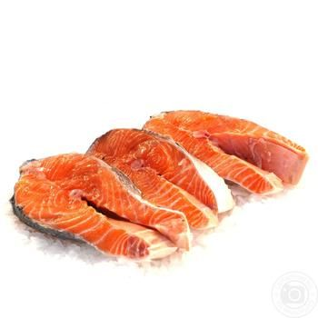 Steak Salmon - buy, prices for Auchan - image 1