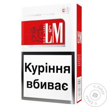 Сигареты L&M Red Label 20шт - купить, цены на Novus - фото 1