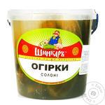 Огірки Шинкар солоні 1кг