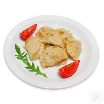 Вареники с мясом курицы - купить, цены на Фуршет - фото 1