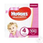 Diaper Huggies Ultra comfort for girls 7-16kg 96pcs
