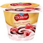 Десерт творожный Дольче вишня с шоколадом  3,4% 200г