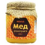Мед Novus разнотравье натуральный 450г